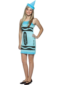 Crayola Blue Teen Costume