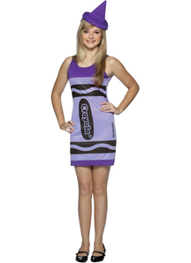 Crayola Purple Teen Costume