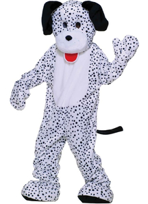Dalmation Mascot Adult Costume