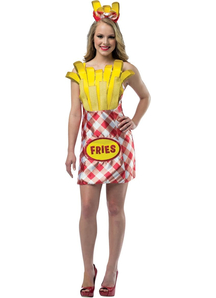 Fries Female Costume