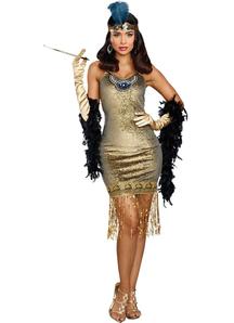 Golden Girl Adult Costume