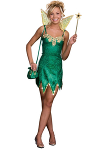 Green Fairy Teen Costume