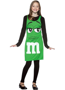 Green M&M'S Teen Costume