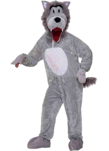 Grey Wolf Adult Costume