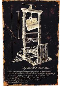 Guilltine Canvas Frame