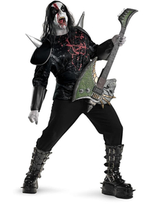 Heavy Metal Adult Plus Costume