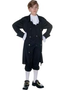 John Adams Child Costume