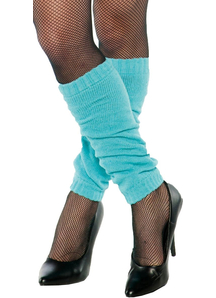 Leg Warmers Blue Adult