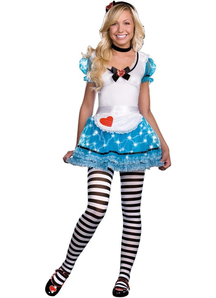 Lighting Alice In Wonderland Adult Costume