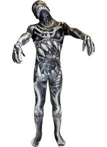 Morphsuit Skeleton Adult Costume