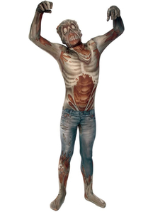 Morphsuit Zombie Adult Costume