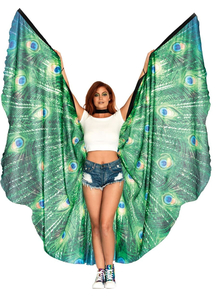 Peacock Feather Wing