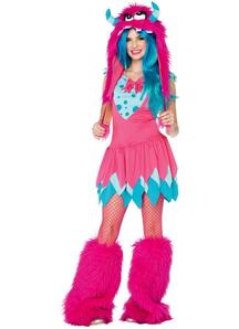 Pink Monster Teen Costume
