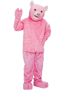 Pink Pig Adult Costume