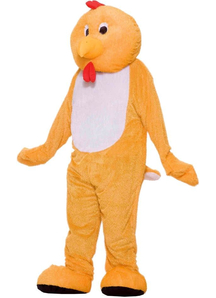 Plush Chicken Adult Costume