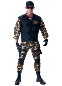 Seal Soldier Teen Costume