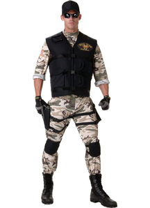 Seal Team Adult Costume