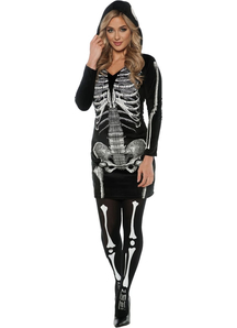 Skeleton Halloween Adult Costume - 10222