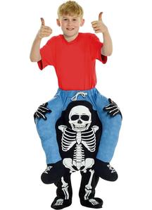 Skeleton Piggyback Kid