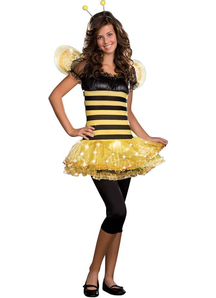 Sparkling Bee Teen Costume