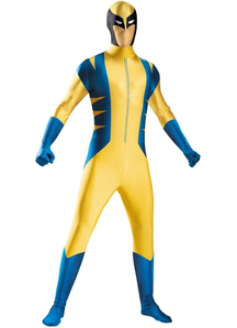 Superhero Wolverine Adult Costume