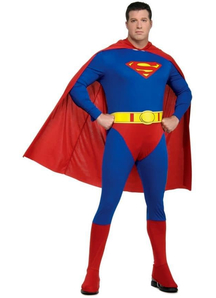 Superman Adult Plus Costume