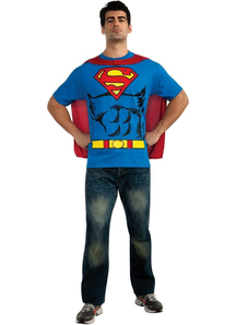 Superman Shirt Adult