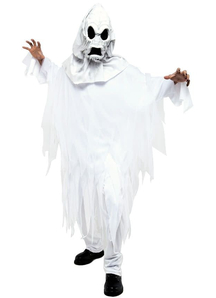 White Ghost Adult Costume