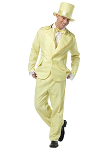 70' S Man Adult Costume Yellow