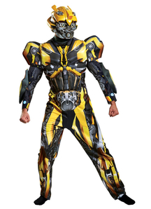 Bumblebee Transformer Costume Adult-2