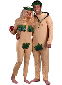 Adam Eve Couple Costume