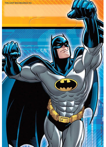 Batman Loot Bags 8 Pack