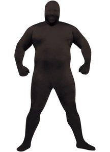 Black Skin Adult Plus Size Costume