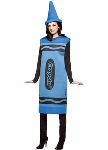 Blue Pencil Crayola Adult Costume