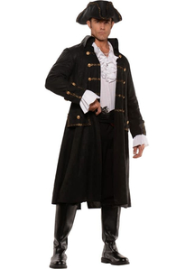 Brave Pirate Adult Plus Size Costume