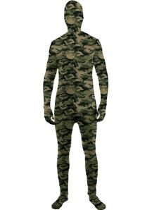 Camo Skin Suit Adult