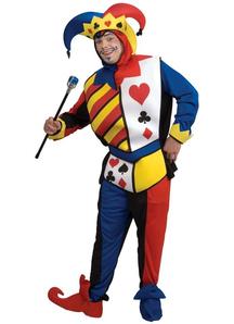 Card Joker Adult Costume