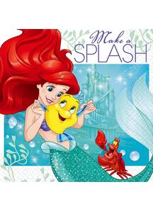 Disney Ariel Bev Napkins