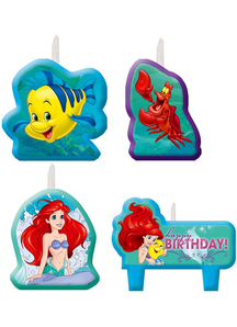 Disney Ariel Candle Set