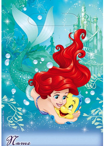 Disney Ariel Loot Bags 8 Pack