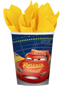 Disney Cars 3 Cups 9Oz 8 Pack