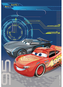 Disney Cars 3 Loot Bags 8 Pack