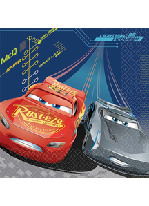 Disney Cars 3 Lunch Napkin