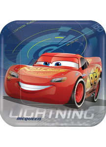 Disney Cars 3 Sq Plate 9