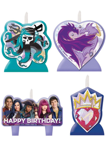 Disney Descendants 2 Candle Se