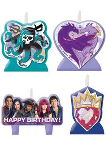 Disney Descendants 2 Candle Se
