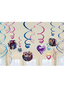 Disney Descendants 2 Foil Dcor