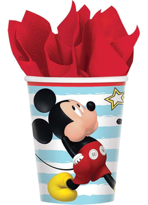 Disney Mickey Cups 9Oz 8 Pack