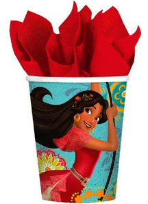 Elena Of Avalor Cups 9Oz 8 Pk