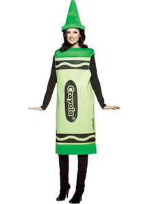 Green Pencil Crayola Adult Costume
